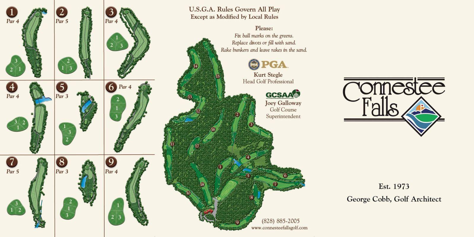 Brevard Golf Course Connestee Falls Golf Club
